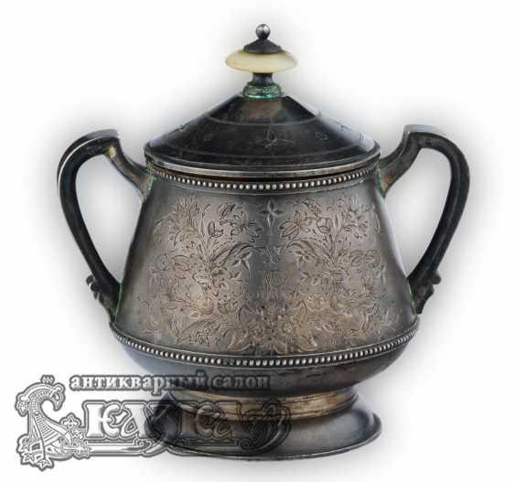 Silver tea set - photo 5
