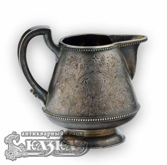 Silver tea set - photo 6