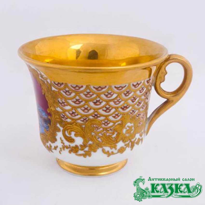 A couple of tea (the Gardner Factory, Russia, XIX century) - photo 3
