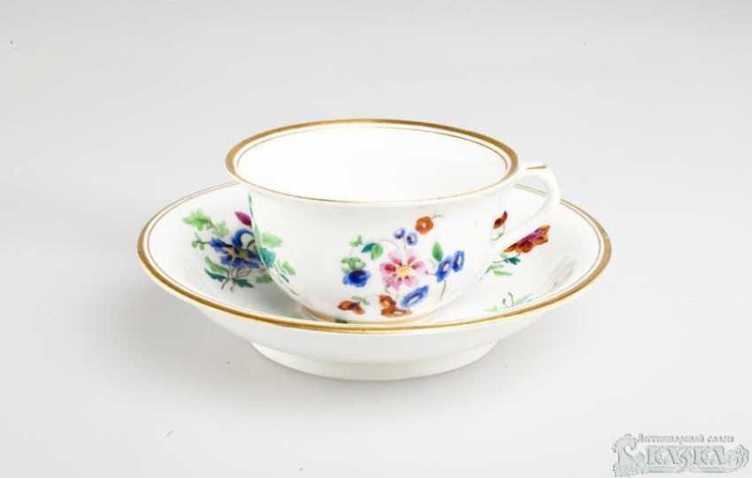 Decorative vase Imperial porcelain factory of Nicholas I - photo 1