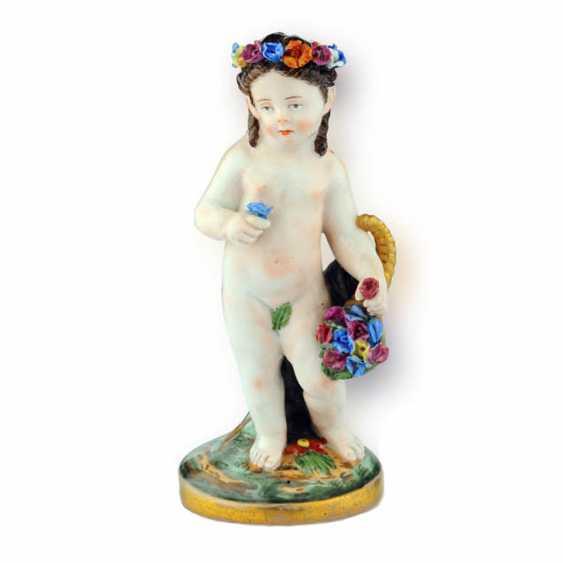 "Figurine ""Putti with flower"" - photo 1"