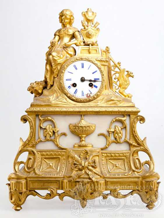 Watch gilded marble (XIX century) - photo 1