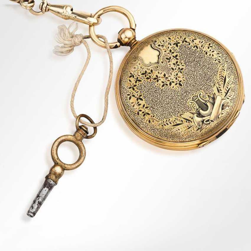 Gold pocket watch - photo 2
