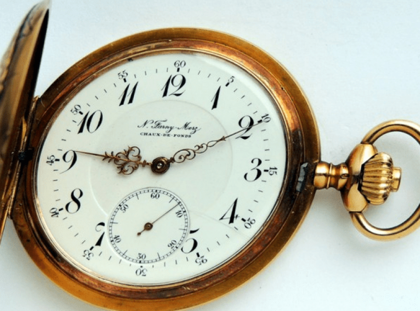 "pocket watch ""Levitan""FANRY-MERZ - photo 1"