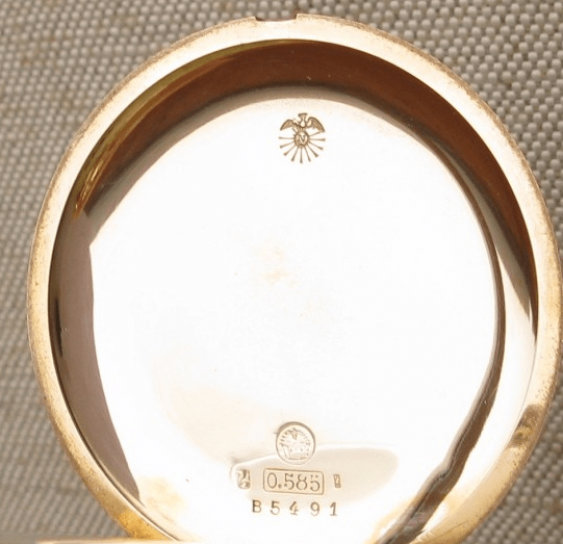 "a pocket watch ""ULYSSE NARDIN"" - photo 2"