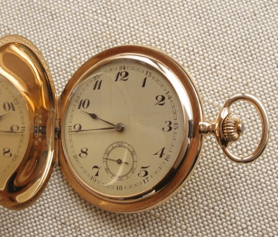 "a pocket watch ""ULYSSE NARDIN"" - photo 1"