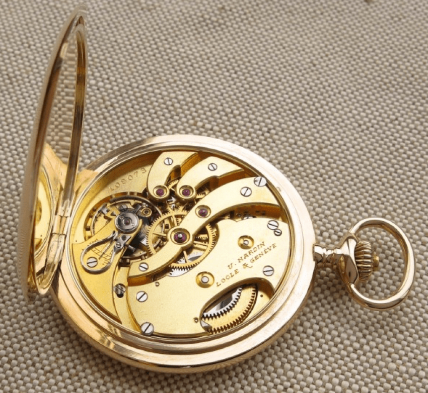 "a pocket watch ""ULYSSE NARDIN"" - photo 4"