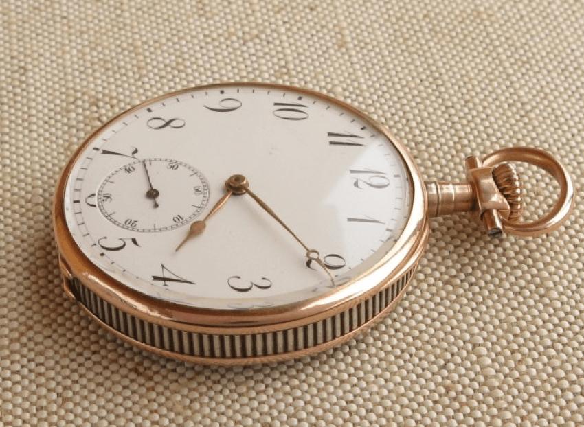 """a pocket watch """"J. POURRAT & FILS"""": - photo 1"""