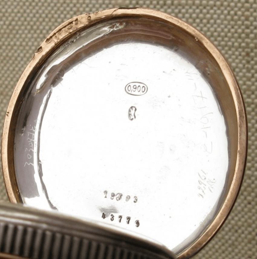 """a pocket watch """"J. POURRAT & FILS"""": - photo 4"""