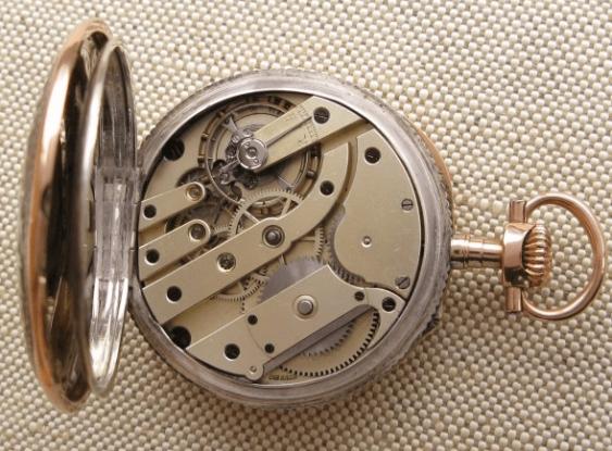 """a pocket watch """"J. POURRAT & FILS"""": - photo 5"""