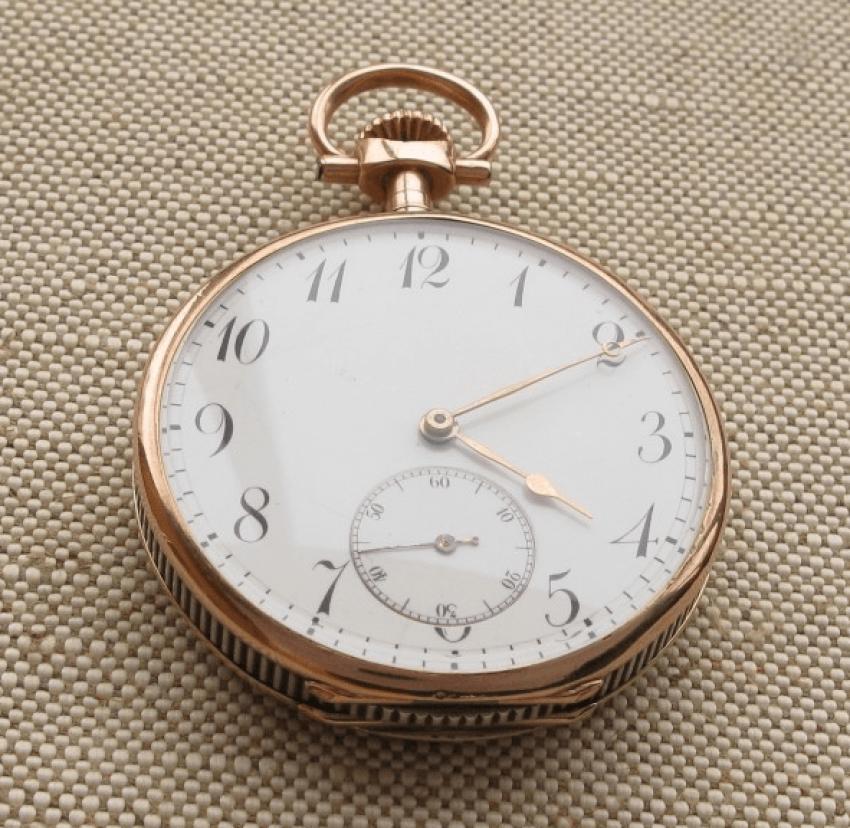 """a pocket watch """"J. POURRAT & FILS"""": - photo 3"""