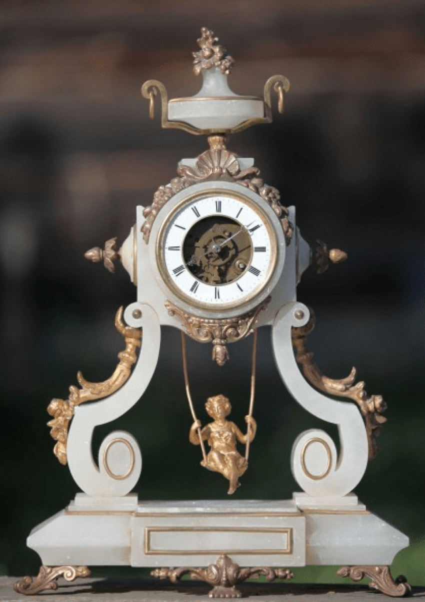 "mantel clock France, ""Farcot"" - photo 1"