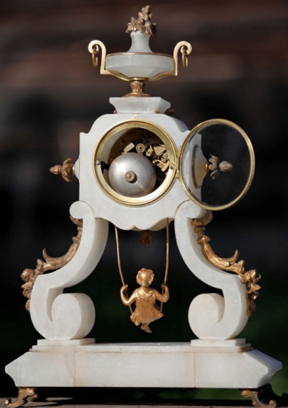 "mantel clock France, ""Farcot"" - photo 4"
