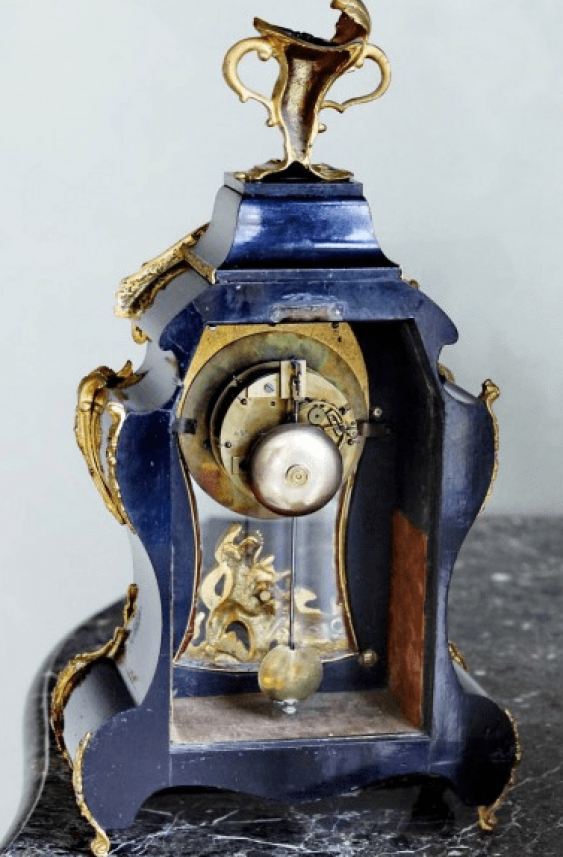 """clock of the 19th century, """"Japy Frères"""" - photo 2"""