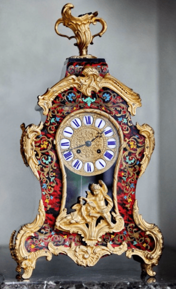 """clock of the 19th century, """"Japy Frères"""" - photo 1"""