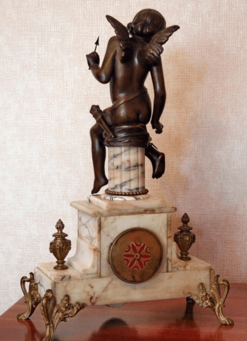"mantel clock ""Cupid"" - photo 3"
