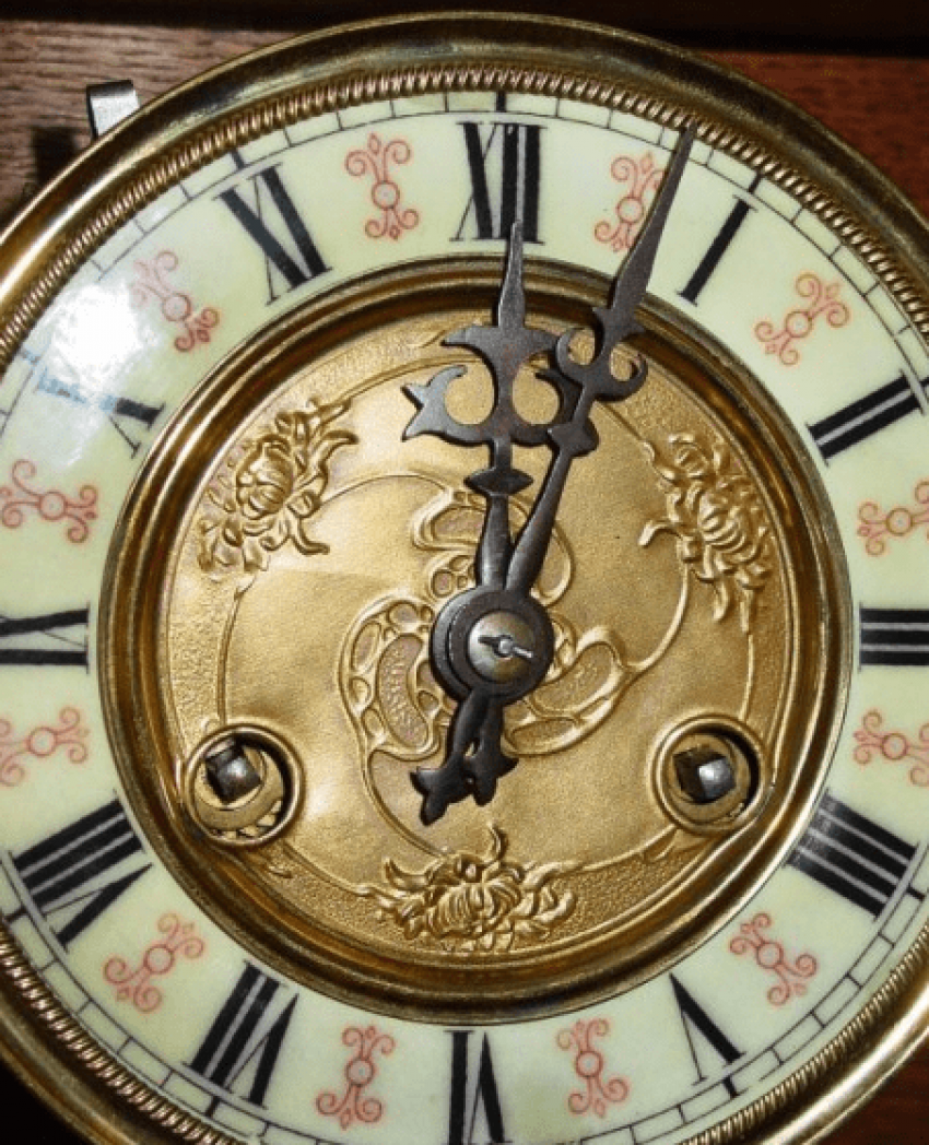 """musical clock """"Waltz of youth"""" - photo 5"""