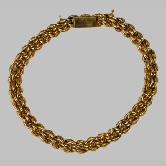 Bracelet vintage en or jaune - photo 1