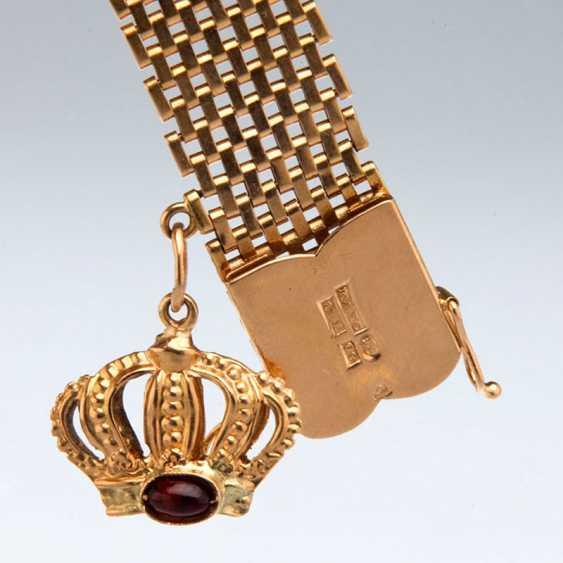 Bracelet with garnet - photo 2