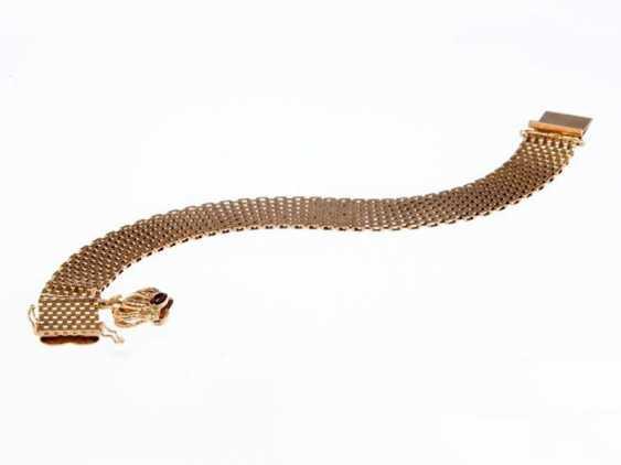 Bracelet with garnet - photo 1