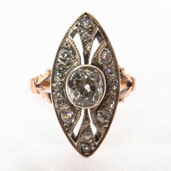 Ring Marquis diamond - photo 2