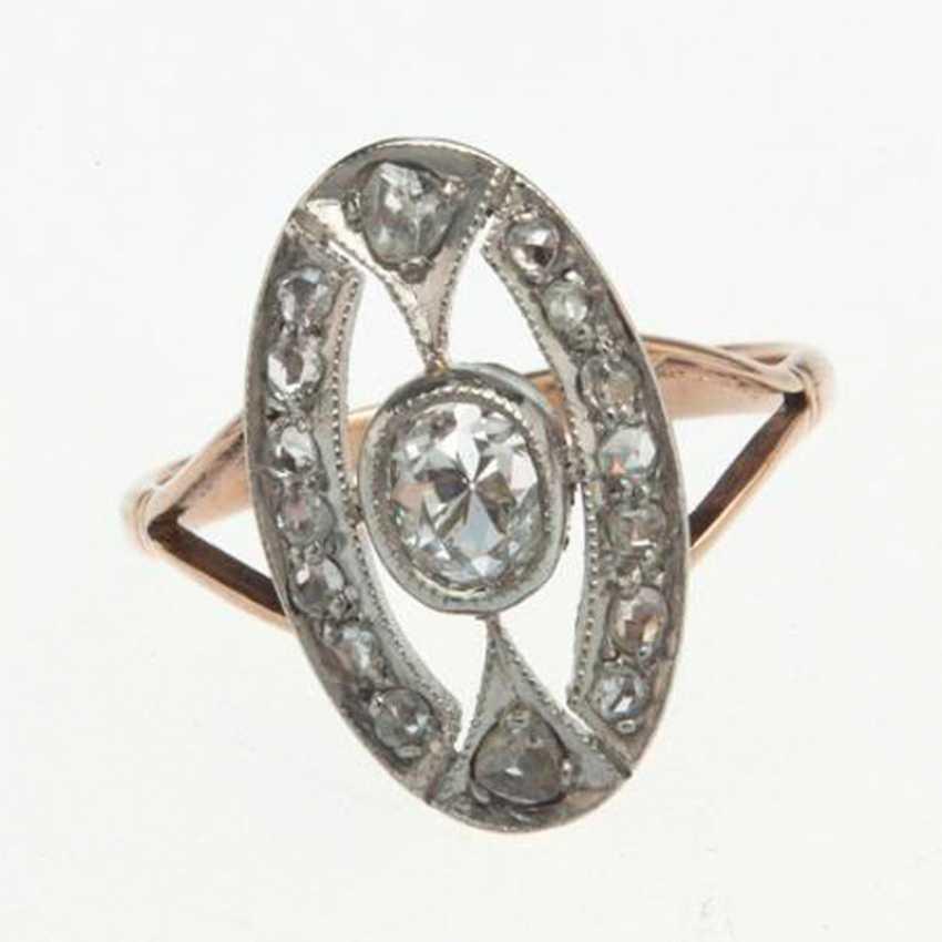 Diamond ring and diamonds - photo 1