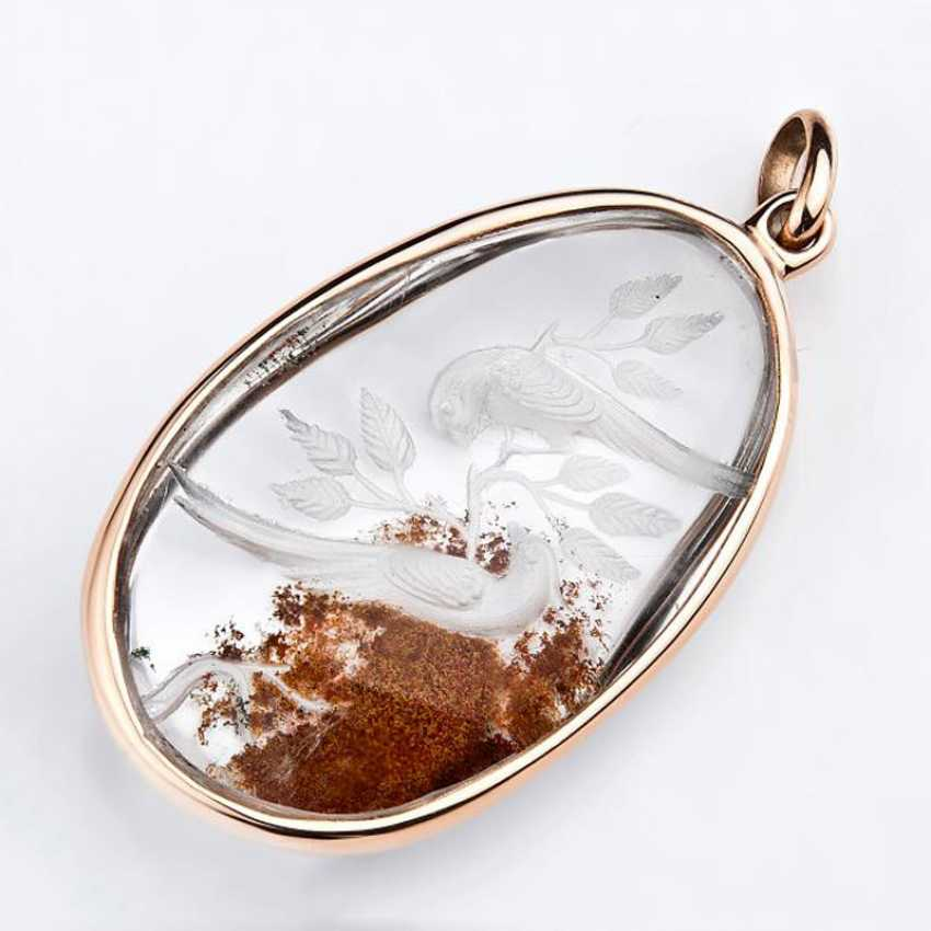 Pendant with rock crystal - photo 1