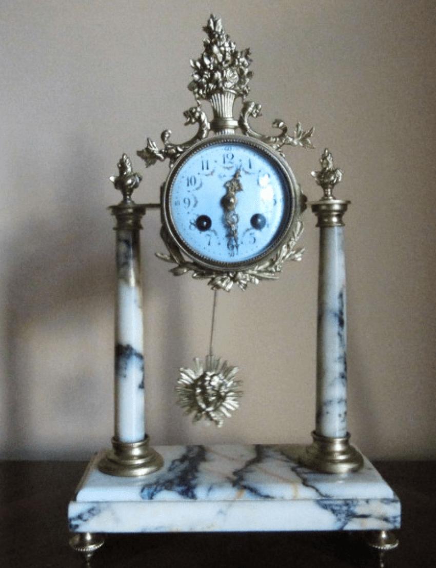 "mantel clock ""Samuel Marti"" - photo 1"