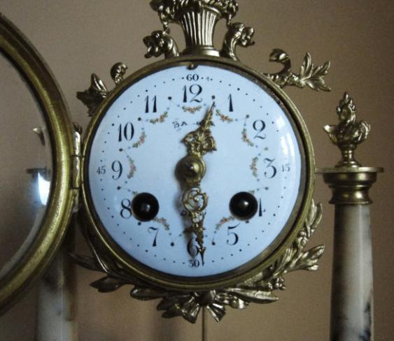 "mantel clock ""Samuel Marti"" - photo 2"