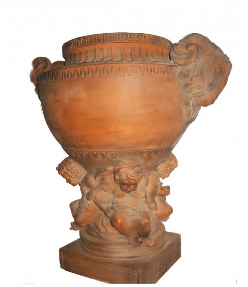 "Two antique planters""Ancient Greece"" - photo 1"