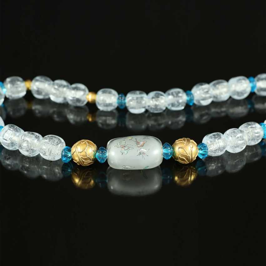 More beads Peking glass - photo 3