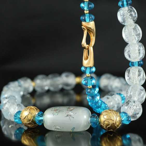 More beads Peking glass - photo 4