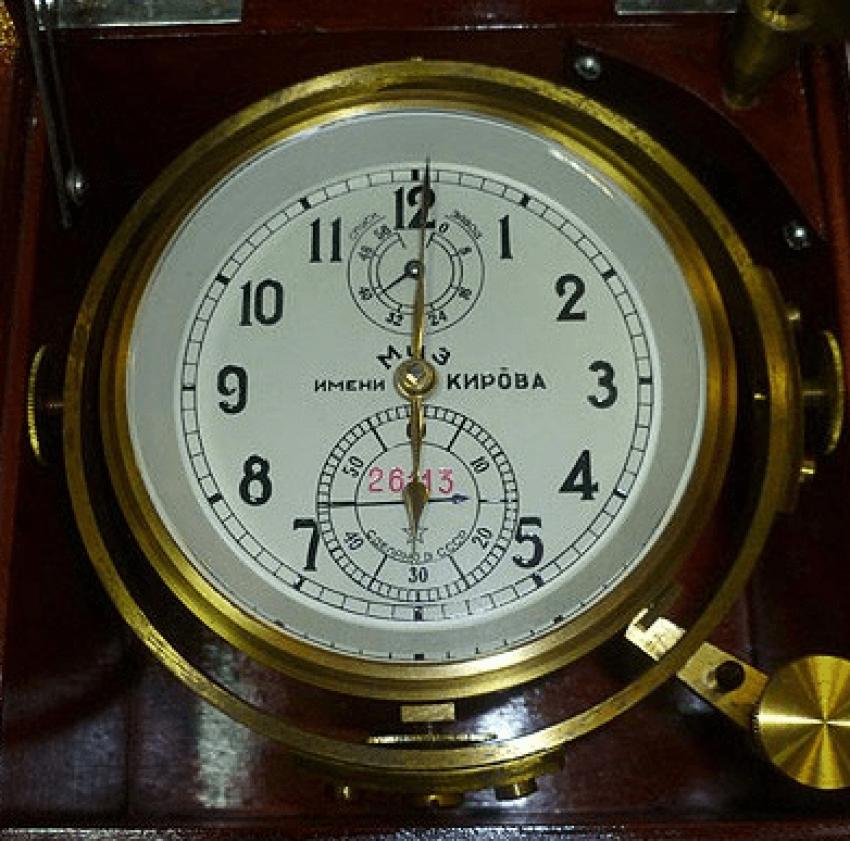 marine chronometer USSR 1976 - photo 3