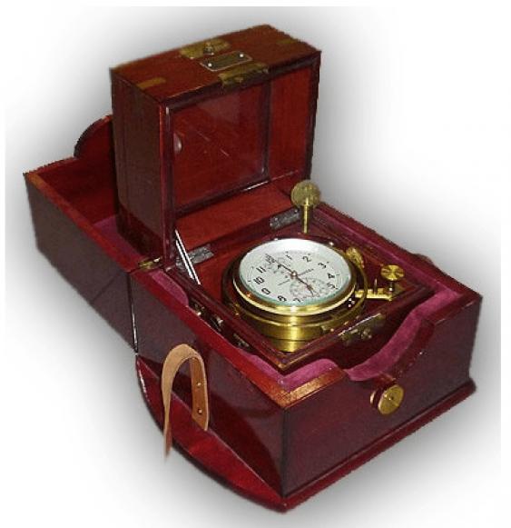 marine chronometer USSR 1976 - photo 1