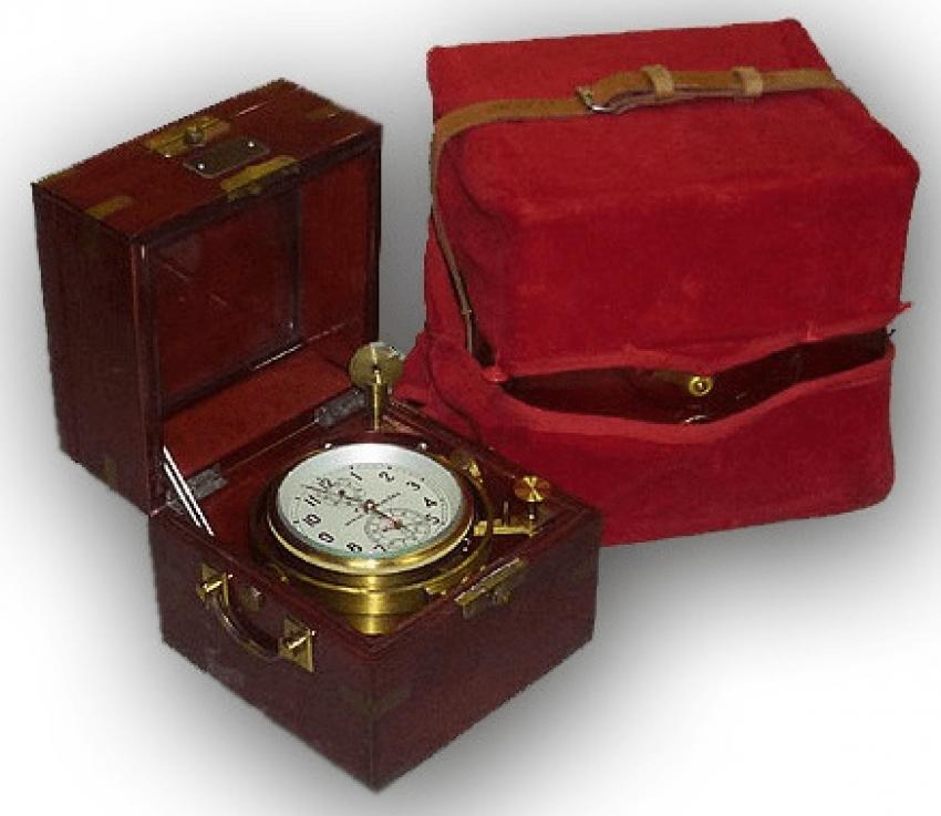 marine chronometer USSR 1976 - photo 4