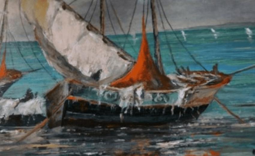 Antique painting G. Lapshin - photo 2