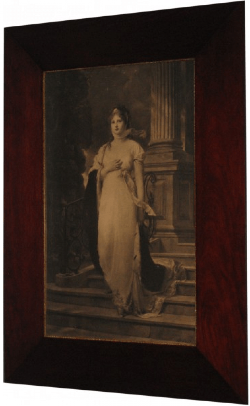 "lithograph ""Louisa, Queen of Prussia"" - photo 1"