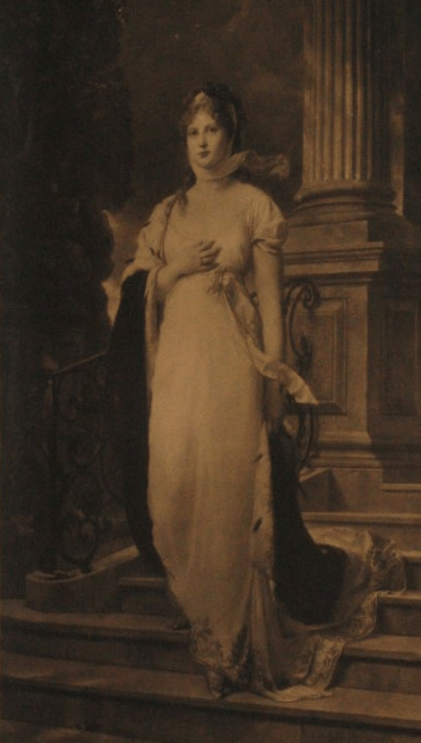 "lithograph ""Louisa, Queen of Prussia"" - photo 2"