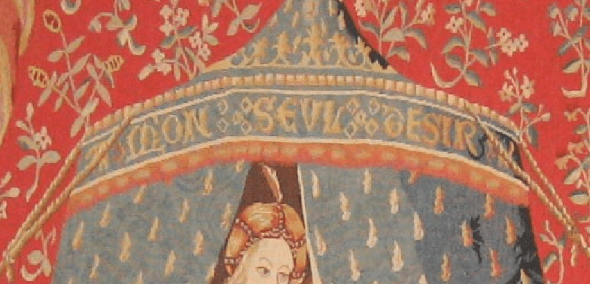 "The tapestry ""the lady with the unicorn"" - photo 2"