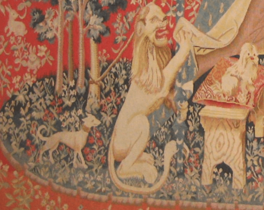 "The tapestry ""the lady with the unicorn"" - photo 3"