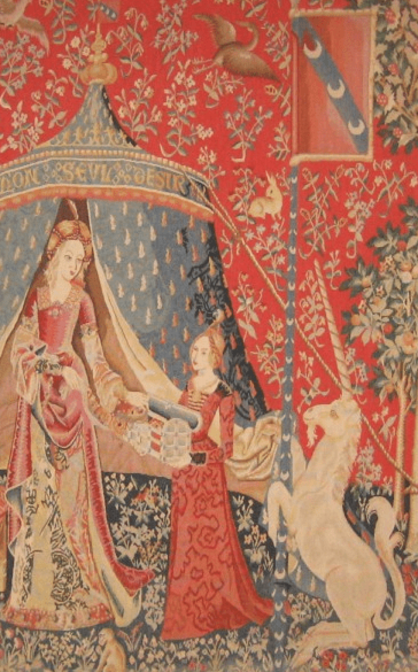 "The tapestry ""the lady with the unicorn"" - photo 4"