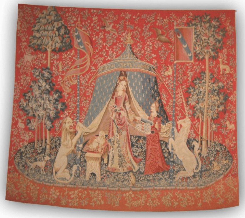 "The tapestry ""the lady with the unicorn"" - photo 1"