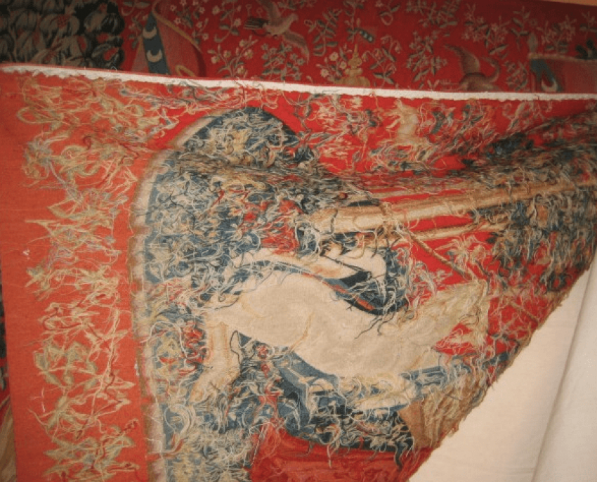 "The tapestry ""the lady with the unicorn"" - photo 5"