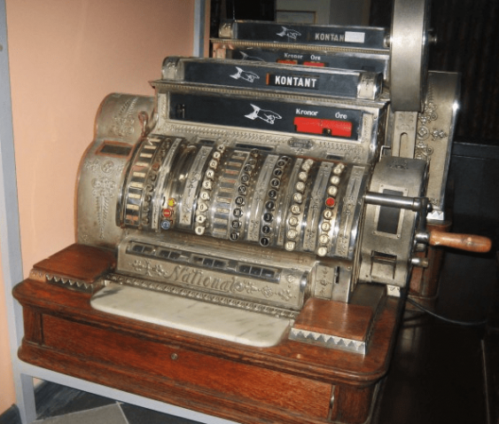 "Antique cash register ""Content"" - photo 3"