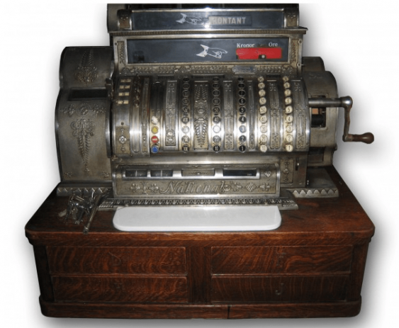 "Antique cash register ""Content"" - photo 1"