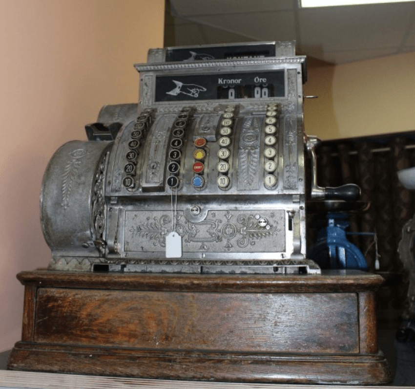 caisse аппарат1880 - 1890, - photo 2