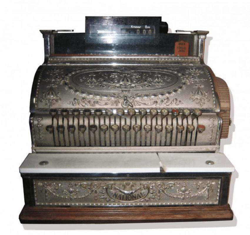 cash register 1905 - photo 1