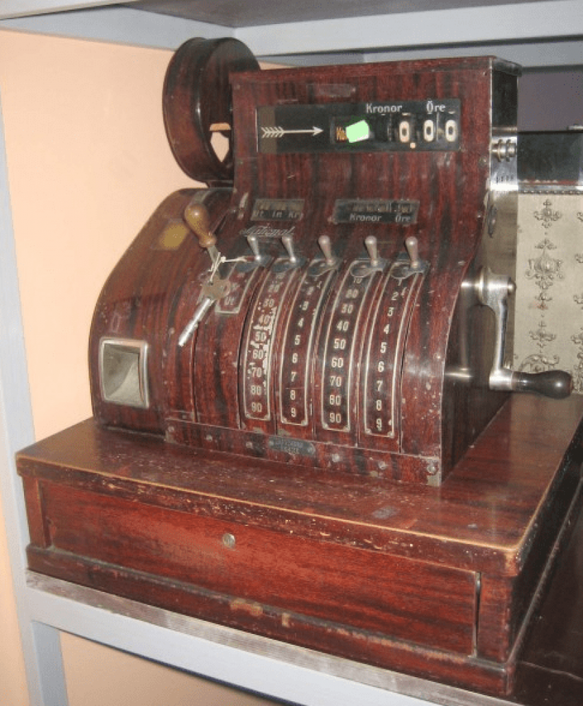 cash register 1910 - photo 2