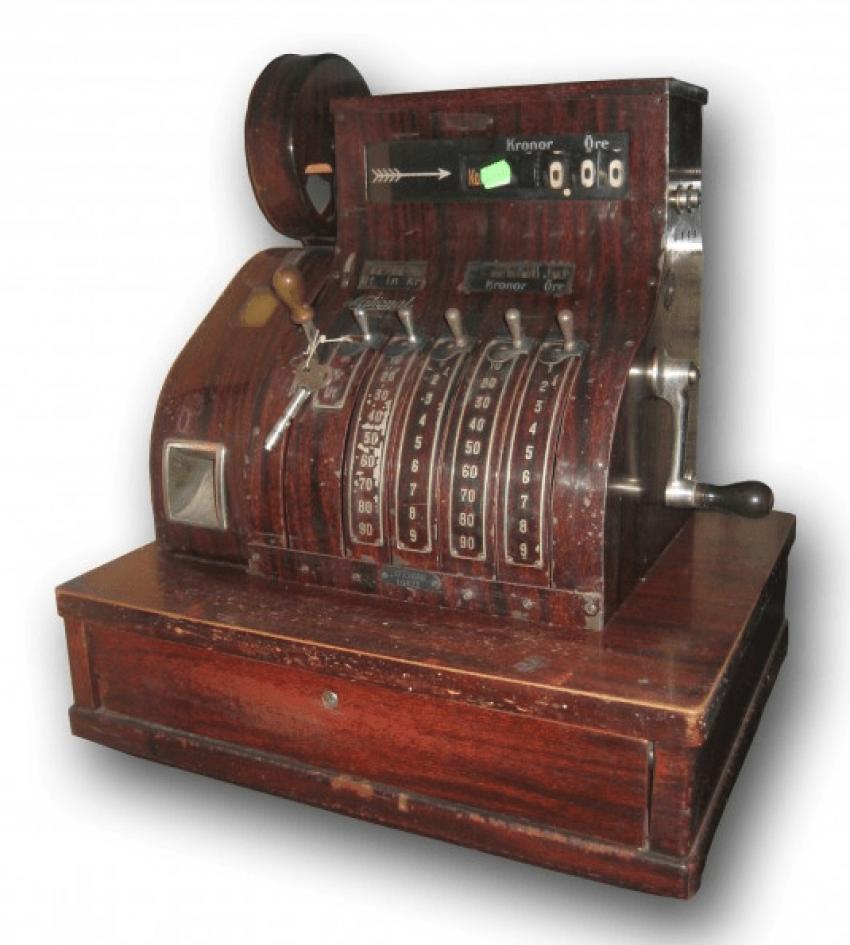 cash register 1910 - photo 1