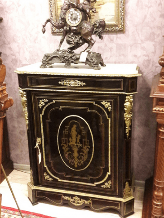 A chest of drawers Boulle 19th century.France - photo 1